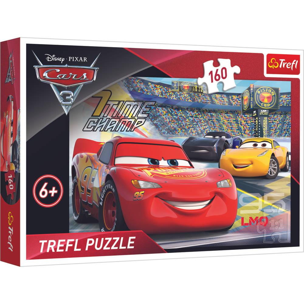 Trefl Disney Cars 3 puzzel - 160 stukjes