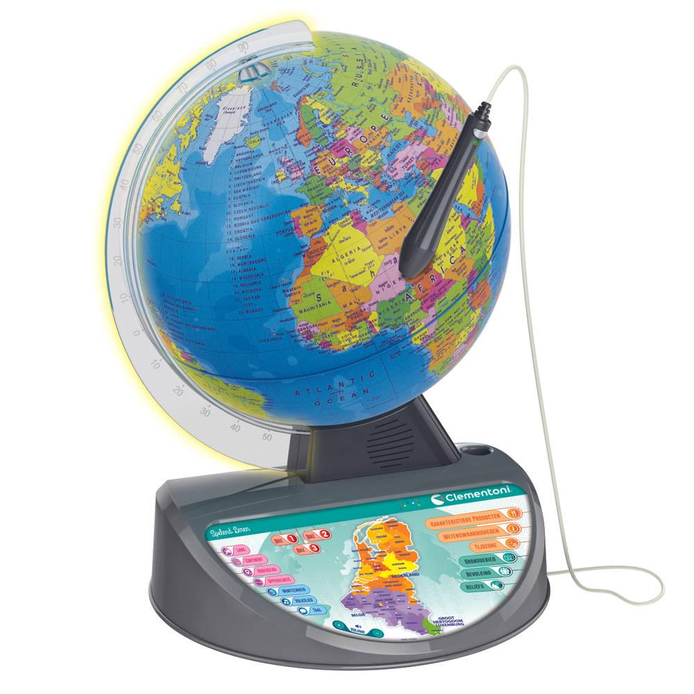 Clementoni interactieve wereldbol