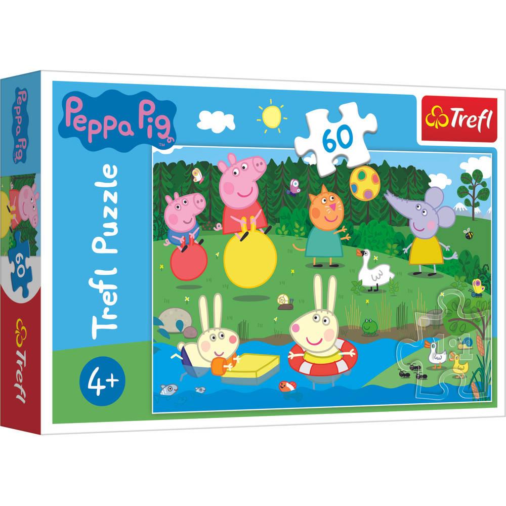 Trefl Peppa Pig puzzel vakantieplezier - 60 stukjes