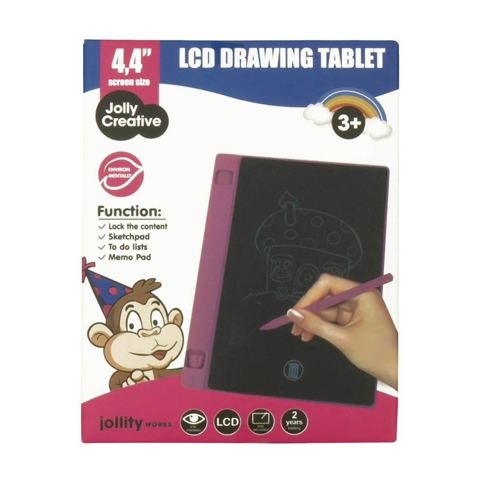 LCD schrijftablet 4.4 inch - roze