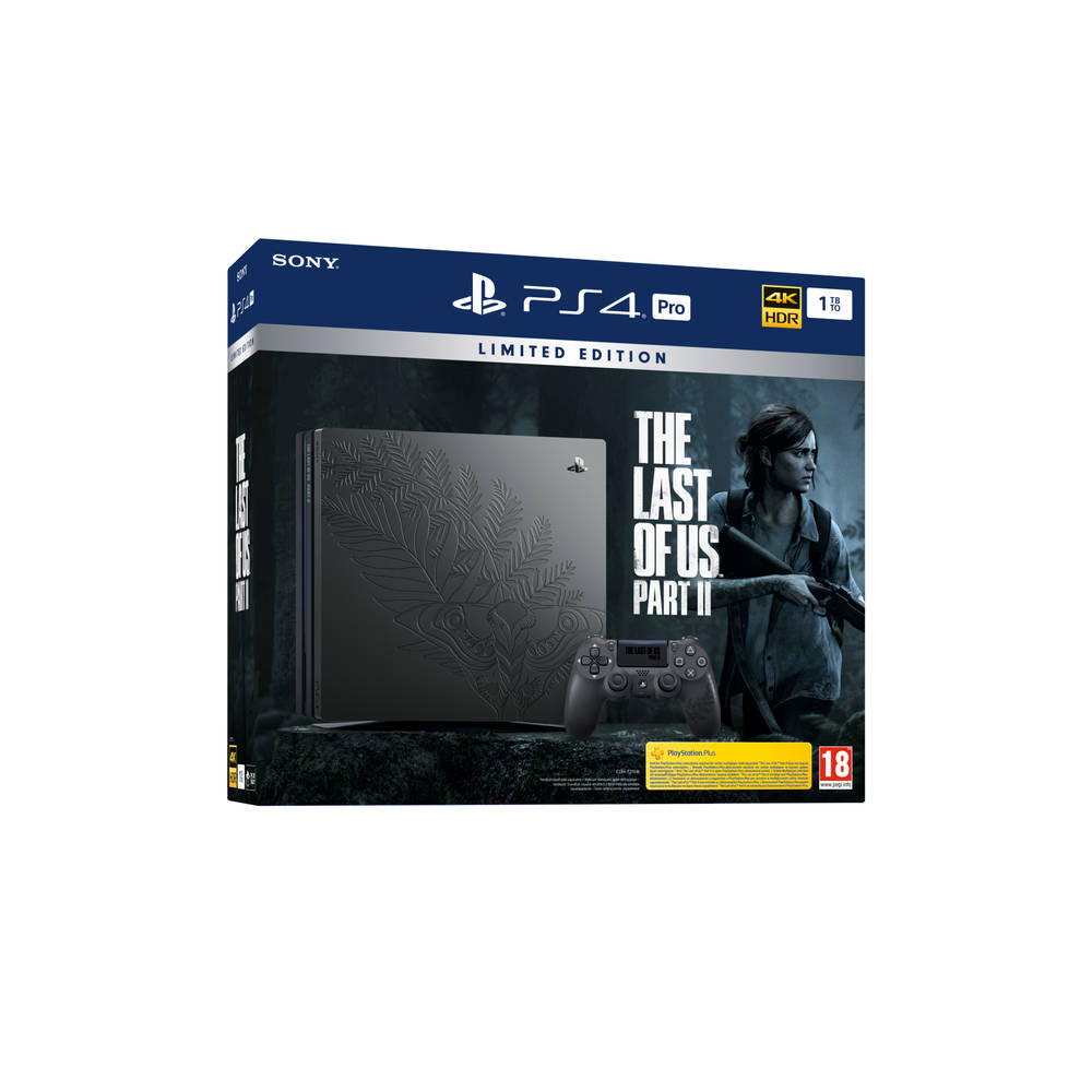 PS4 Pro 1TB The Last of Us Part II Limited Edition bundel