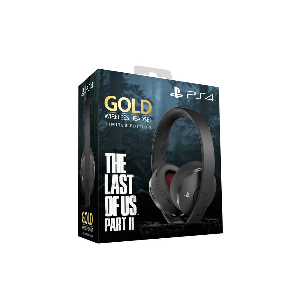 PS4 Gold 7.1 The Last of Us Part II Limited Edition draadloze headset