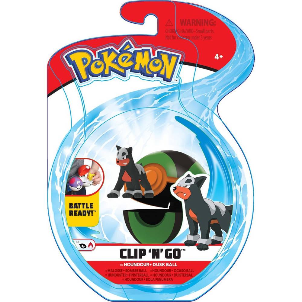Pokémon Clip 'N' Go Wave 6 Houndour en Dusk Ball