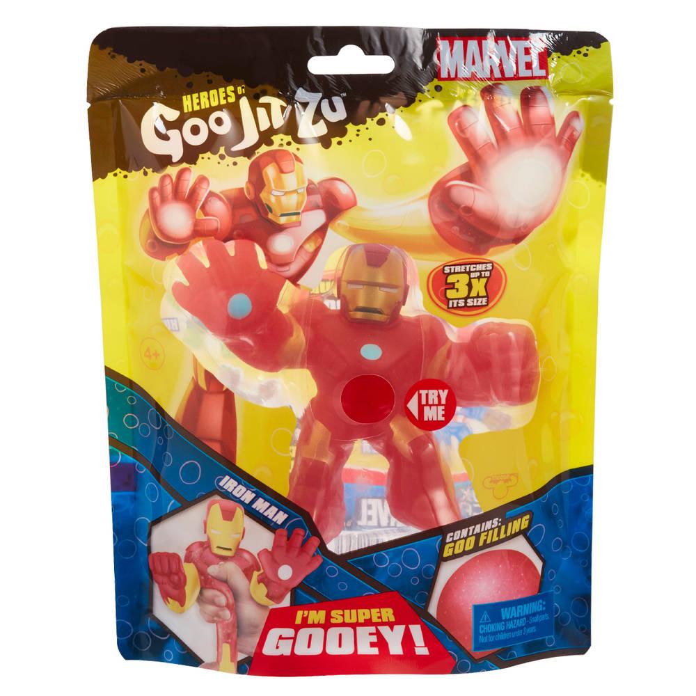 Goo Jit Zu Marvel superheld Iron Man