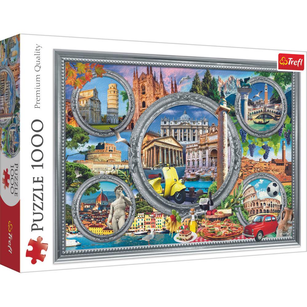 Trefl puzzel Italiaanse vakantie - 1000 stukjes