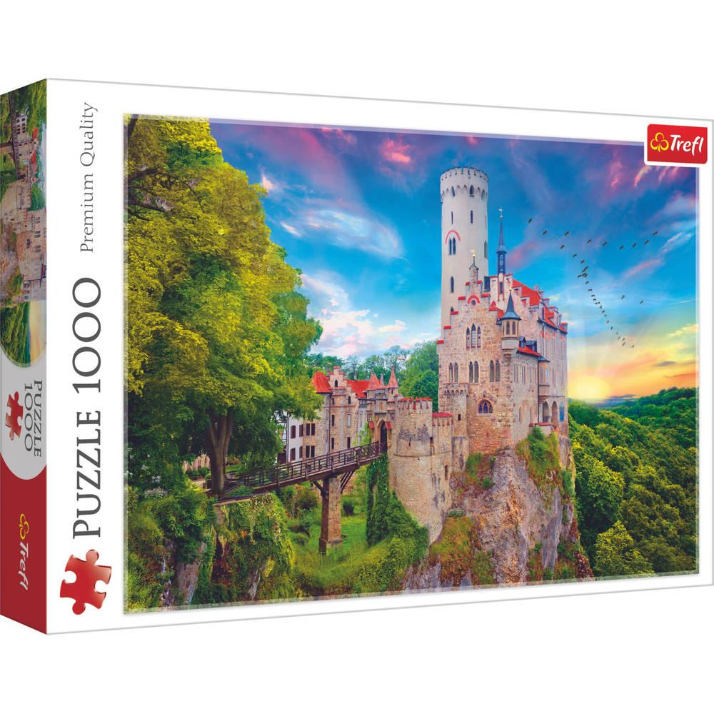 Trefl puzzel Lichtenstein kasteel Duitsland - 1000 stukjes