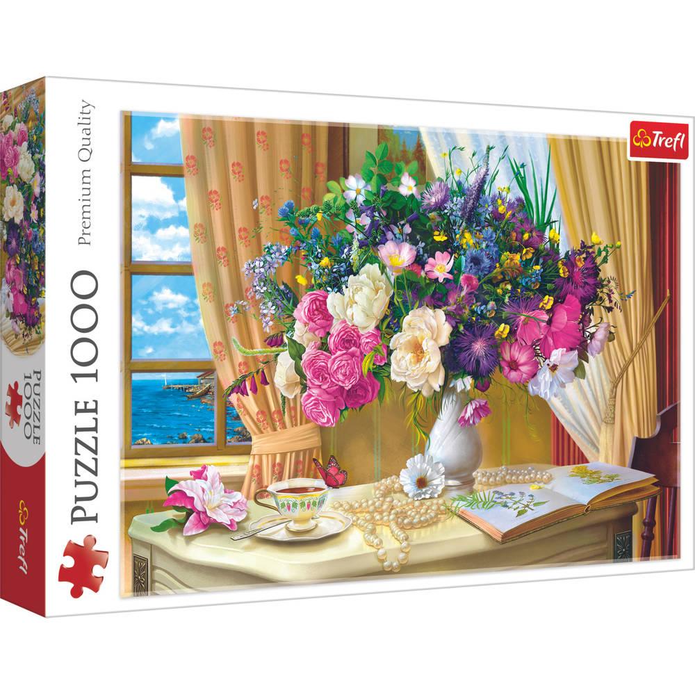 Trefl puzzel bloemen in de ochtend - 1000 stukjes