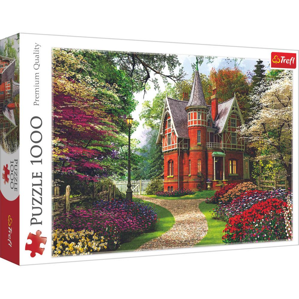 Trefl puzzel Victoriaans huisje - 1000 stukjes