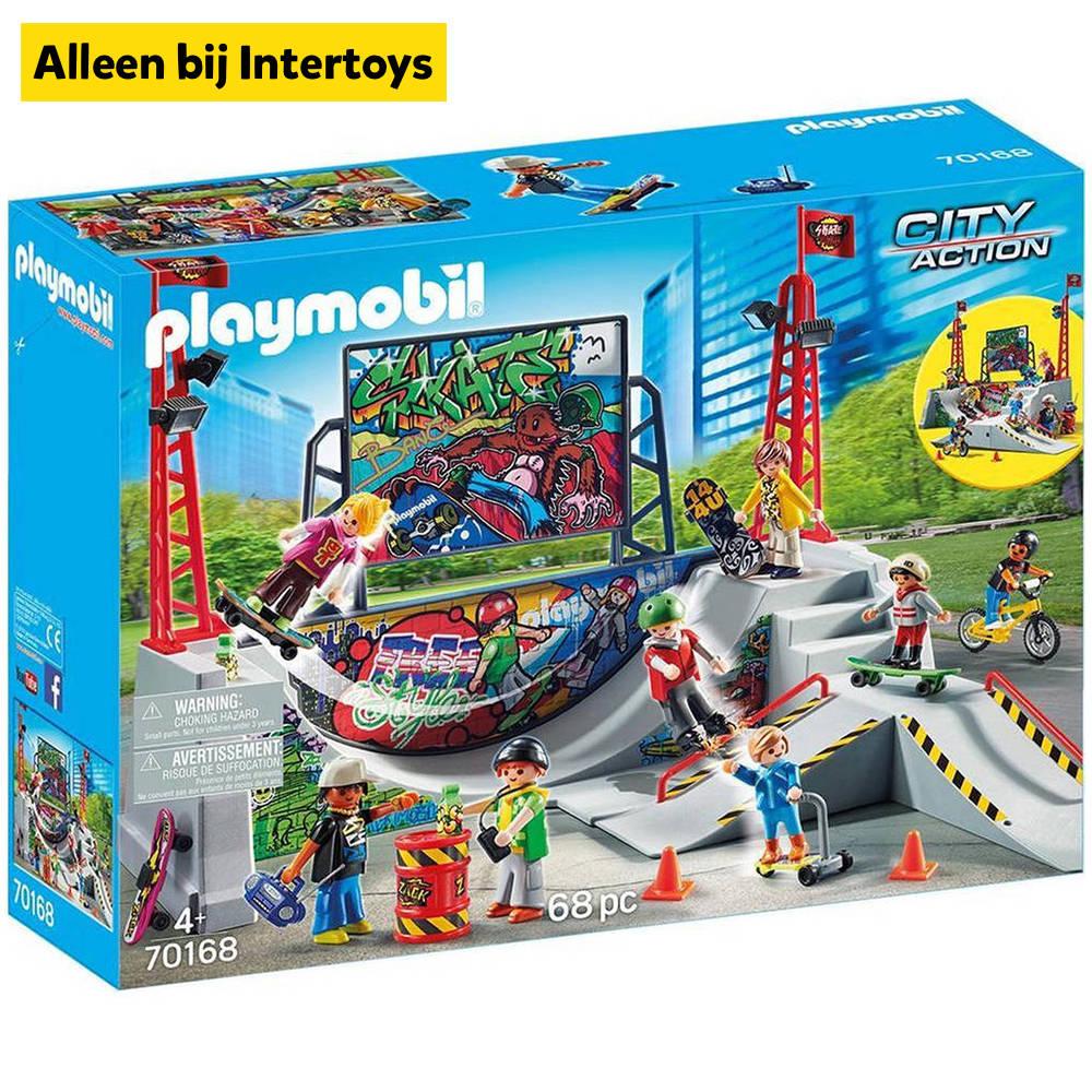 PLAYMOBIL City Action skatepark 70168