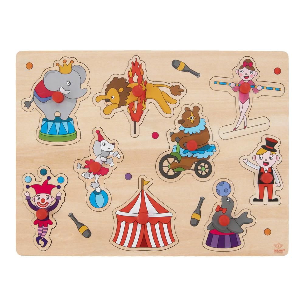 Knopjespuzzel circus - 30 x 22,5 cm