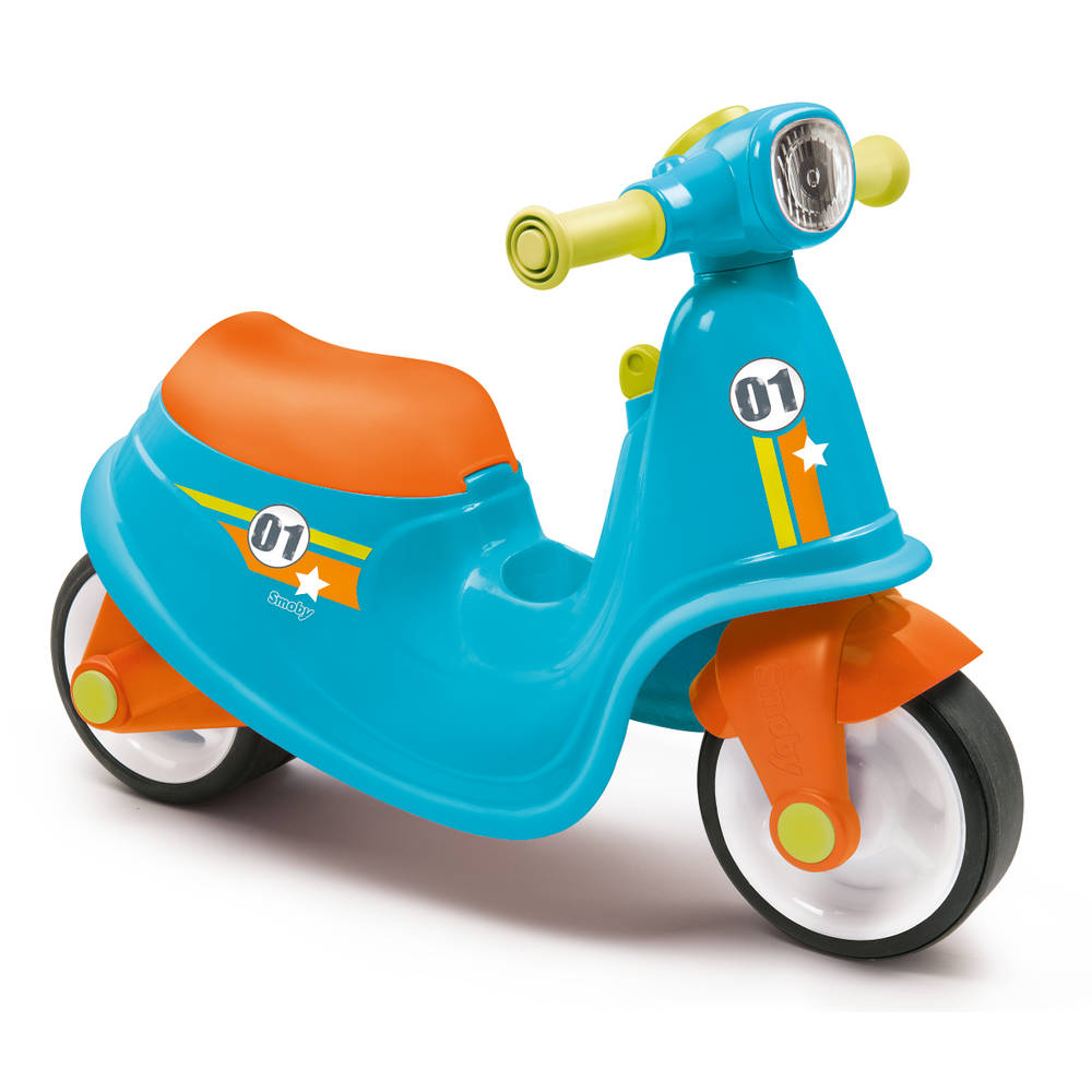Smoby loopscooter - blauw