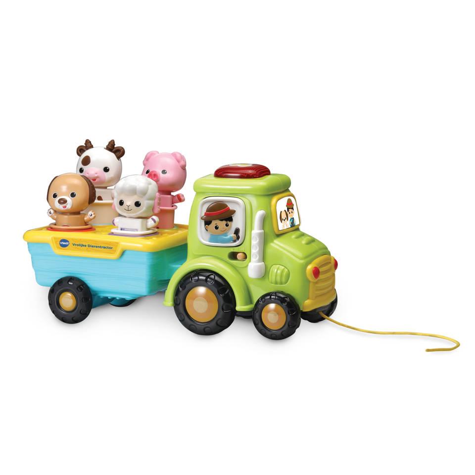 VTech Baby vrolijke dierentractor