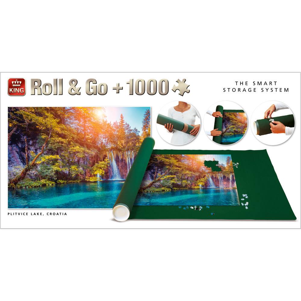 Roll & Go en puzzel Plitvice Lake - 1000 stukjes