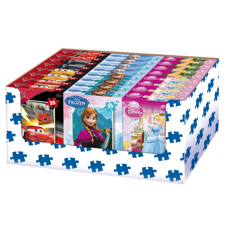 King puzzel Disney Multi Mix - 35 stukjes