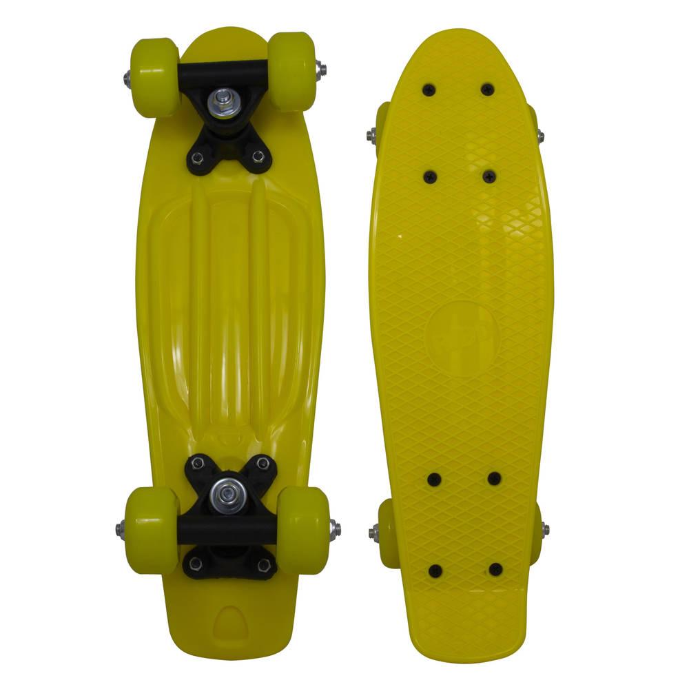RiDDPenny skateboard - 17 inch - geel