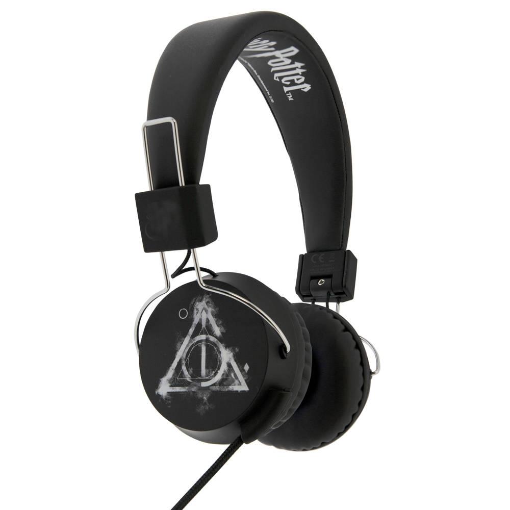 Harry Potter Smoky Deathly Hallows koptelefoon