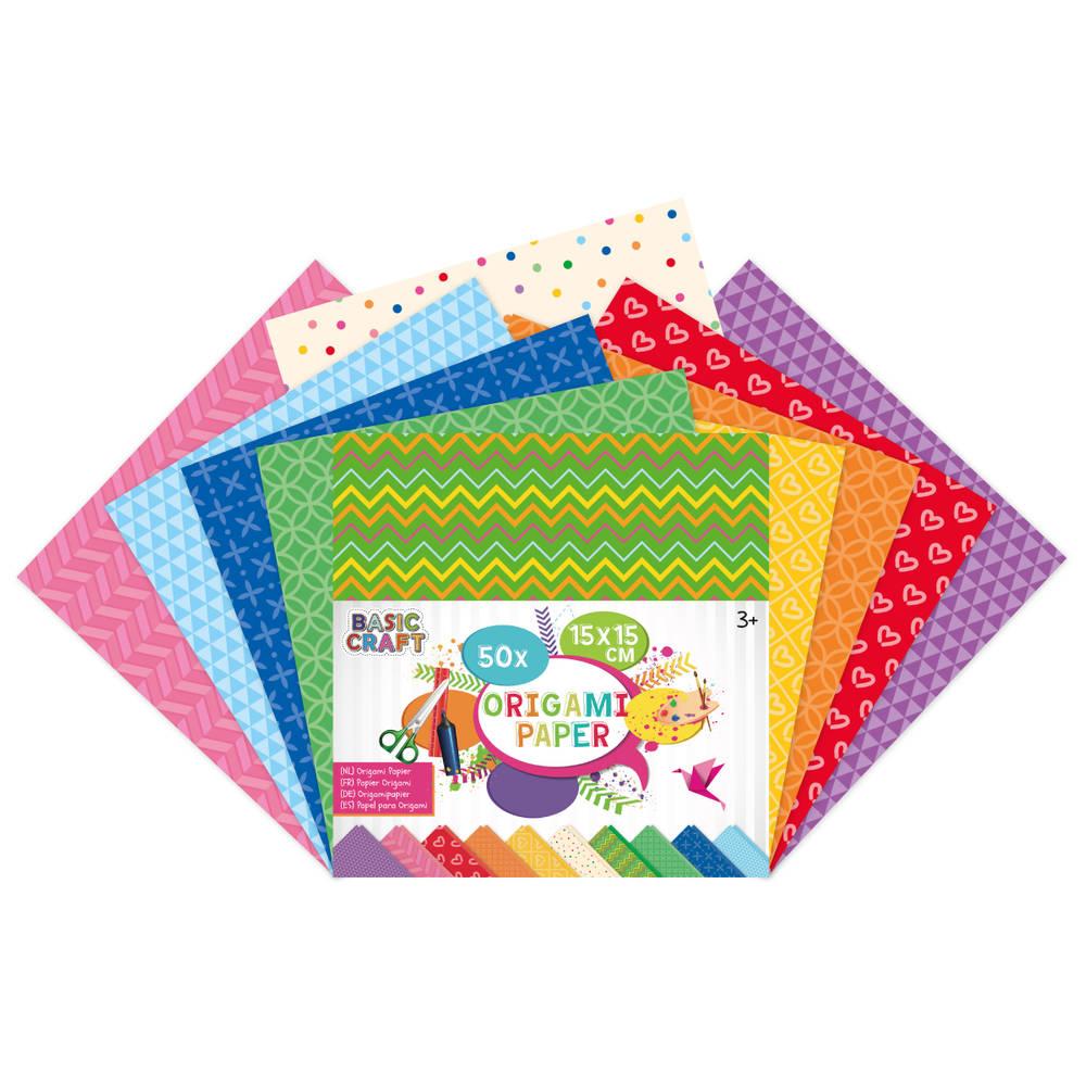 Origami papier - 50 vellen