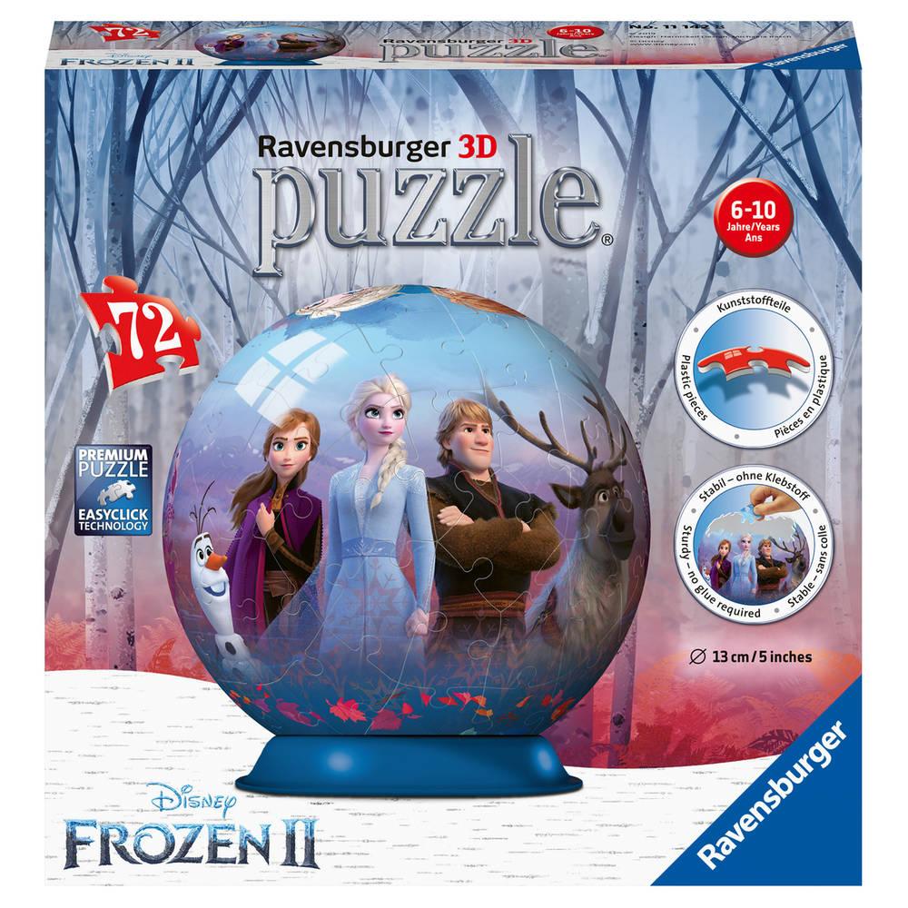 Ravensburger Disney Frozen 2 3D-puzzelbal - 72 stukjes