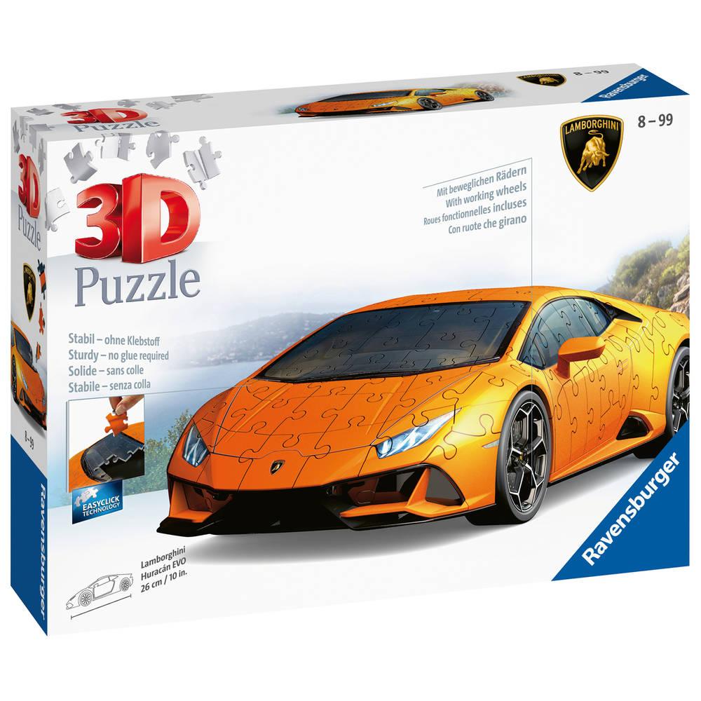 Ravensburger 3D-puzzel Lamborghini Huracán Evo - 108 stukjes