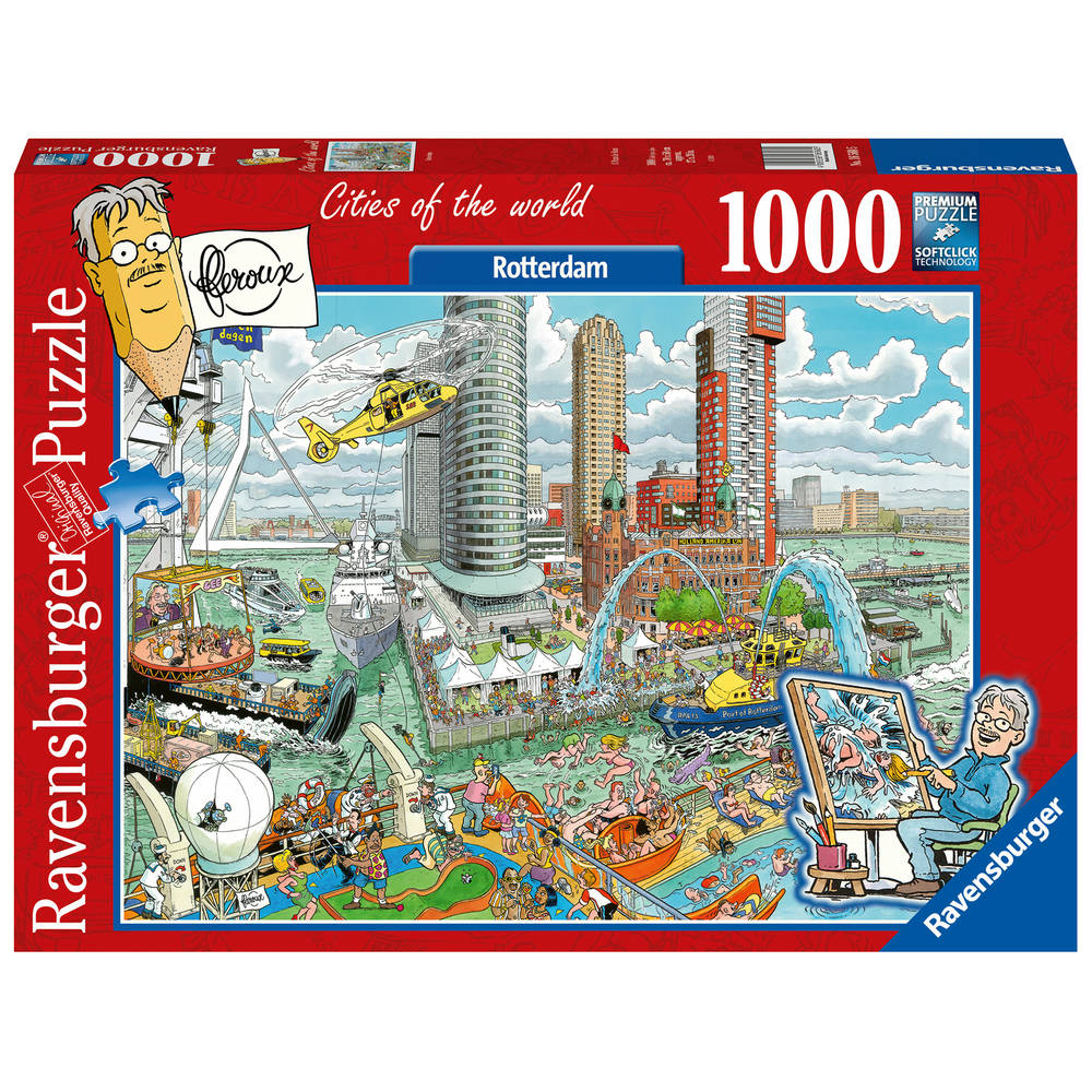 Ravensburger puzzel Rotterdam - 1000 stukjes