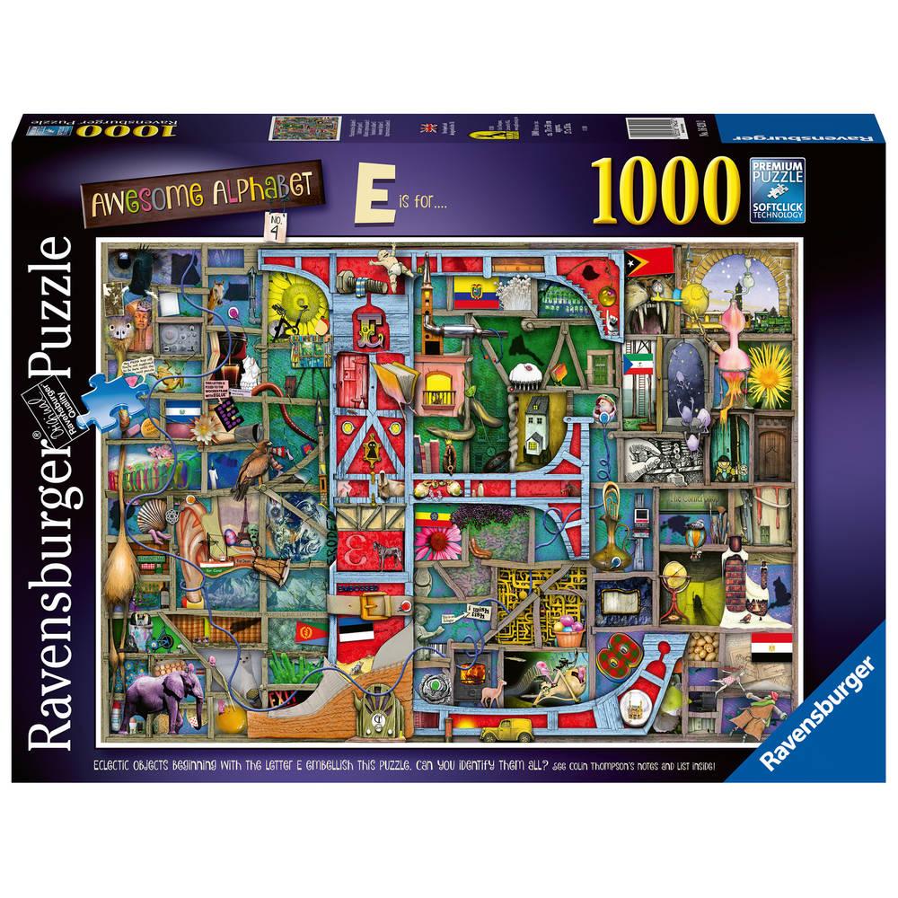Ravensburger puzzel alfabet - 1000 stukjes