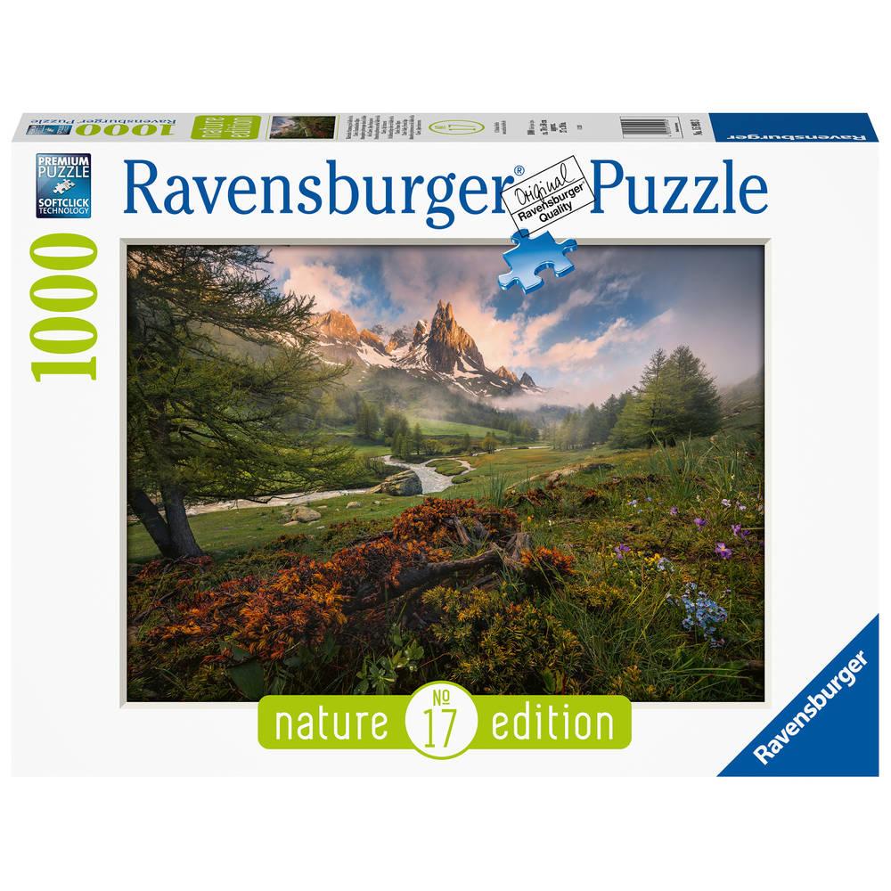 Ravensburger puzzel Franse Alpen - 1000 stukjes