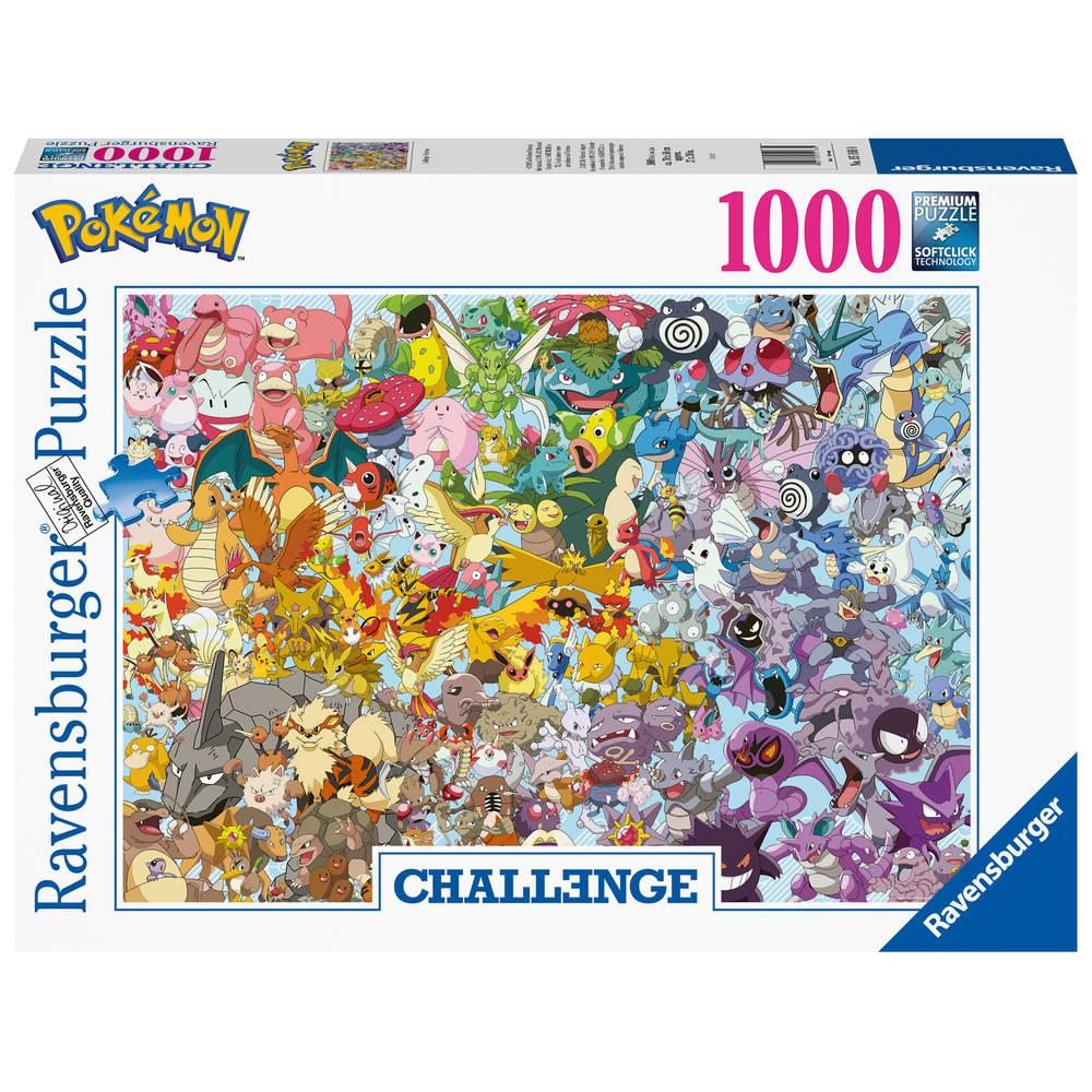 Ravensburger puzzel Pokémon - 1000 stukjes