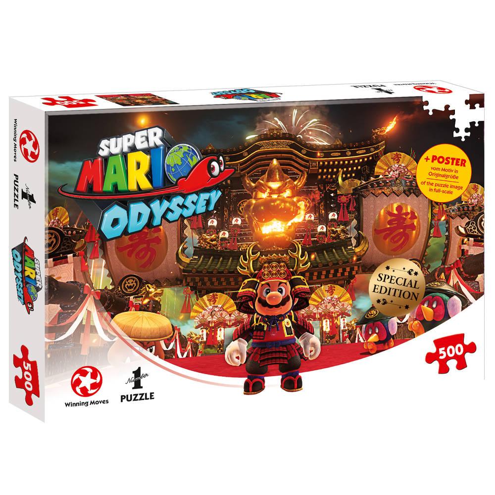 Super Mario Odyssey Bowser's Castle - 500 stukjes