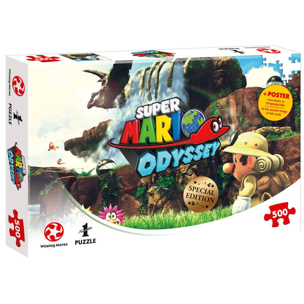 Super Mario Odyssey Fossil Falls - 500 stukjes