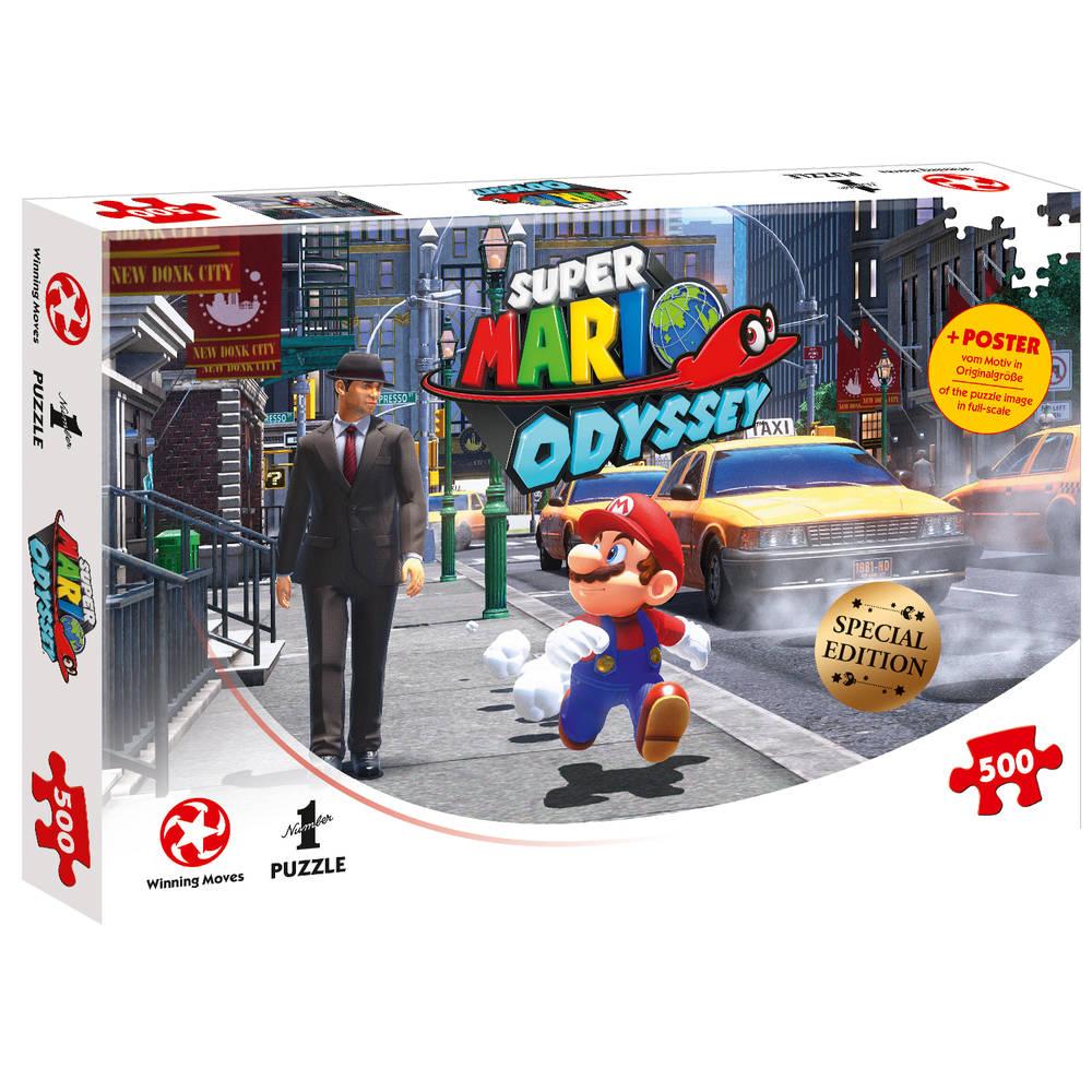 Super Mario Odyssey New Donk City - 500 stukjes