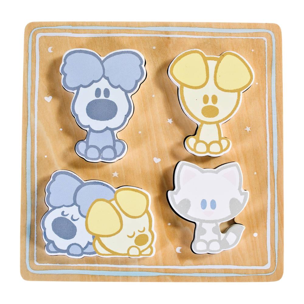 Woezel & Pip baby houten puzzel