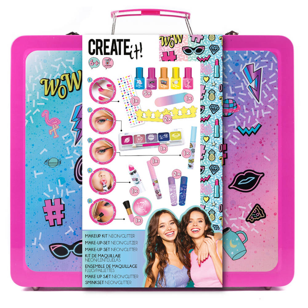Create It! make-up blik - neon glitter