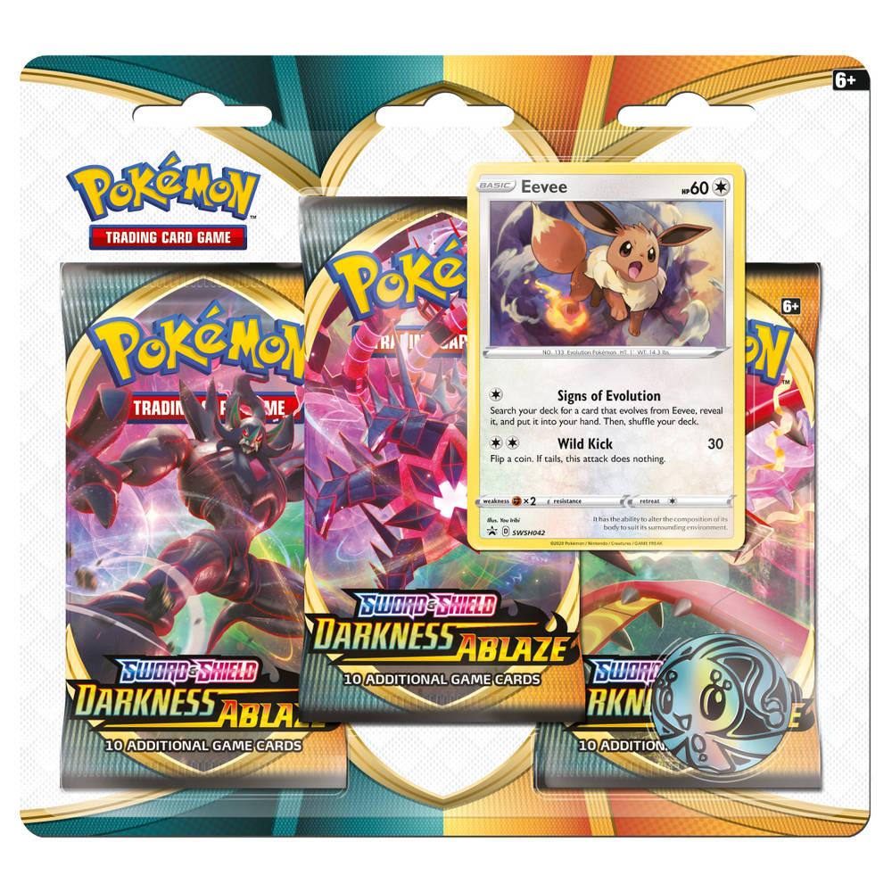 Pokémon TCG Sword & Shield Darkness Ablaze 3 booster