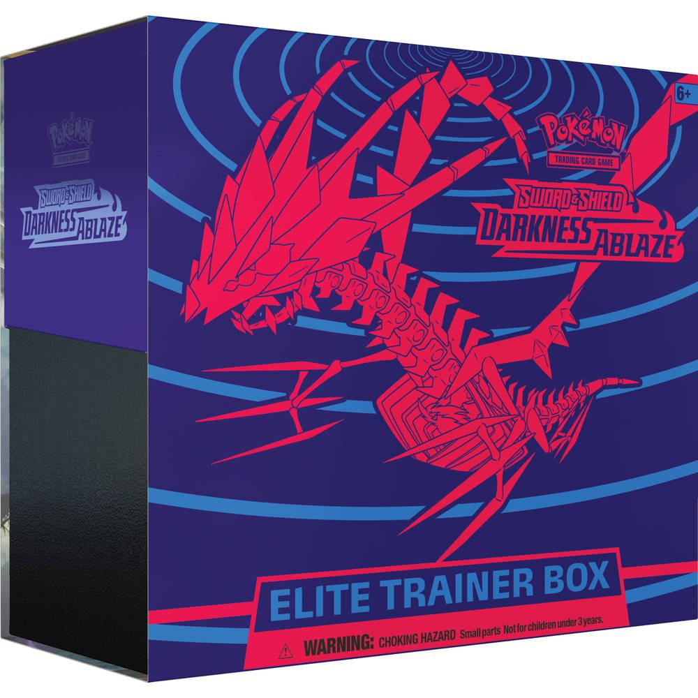 Pokémon TCG Sword & Shield Darkness Ablaze Elite trainerbox