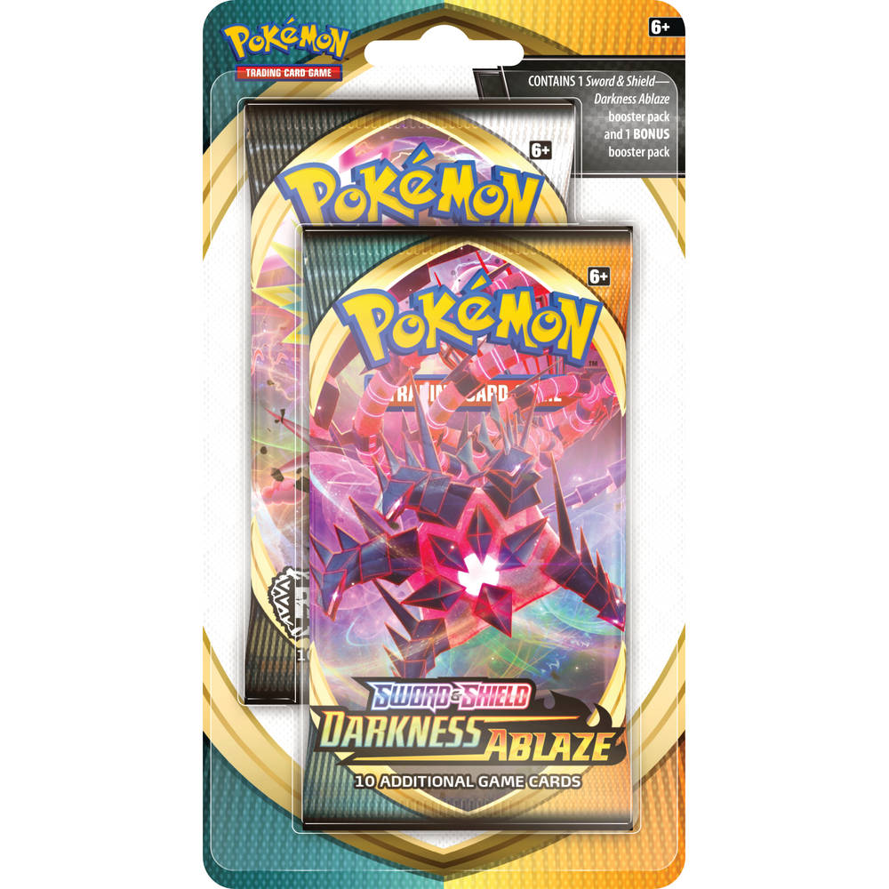 Pokémon TCG Sword & Shield Darkness Ablaze Celebration blister