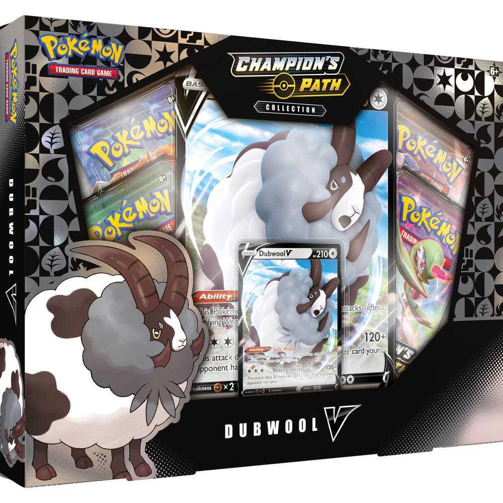 Pokémon TCG Champion's Path Dubwool V collectie