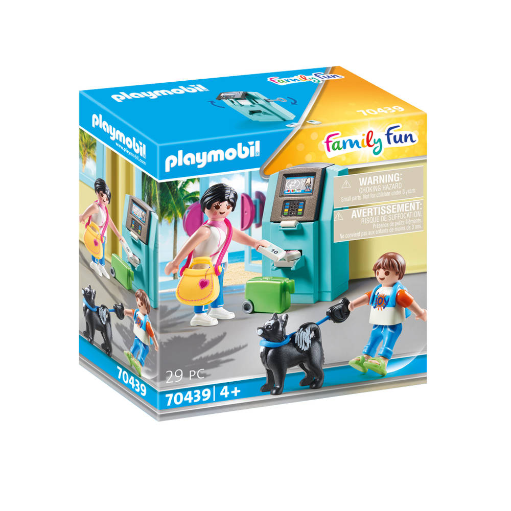 PLAYMOBIL Family Fun vakantiegangers 70439