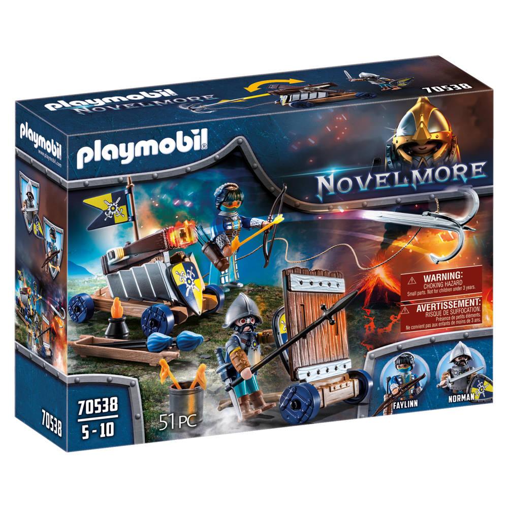 PLAYMOBIL Novelmore aanvalsgroep 70538