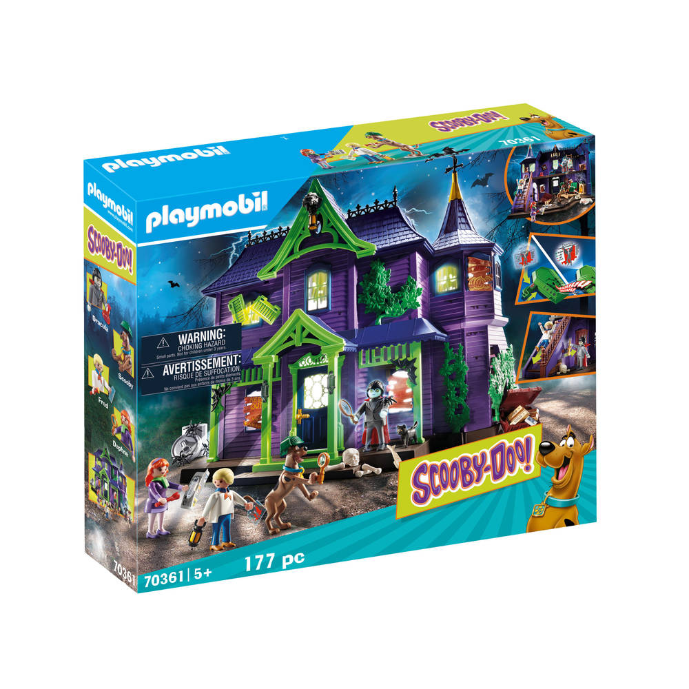 PLAYMOBIL Scooby-Doo! avontuur in Mystery Mansion 70361