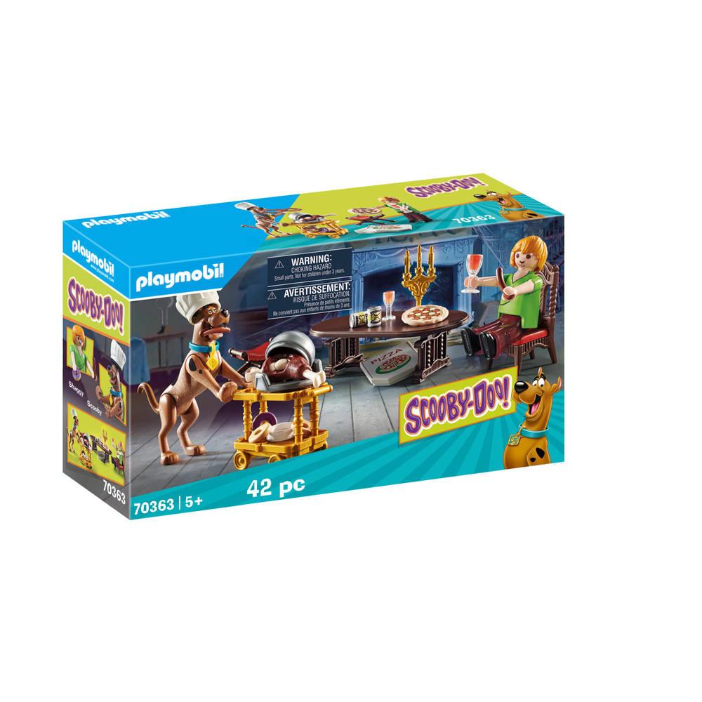 PLAYMOBIL Scooby-Doo! avondmaal met Shaggy 70363
