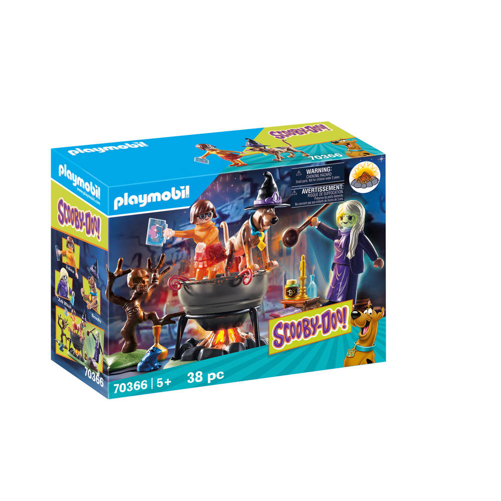 PLAYMOBIL Scooby-Doo! in de heksenketel 70366