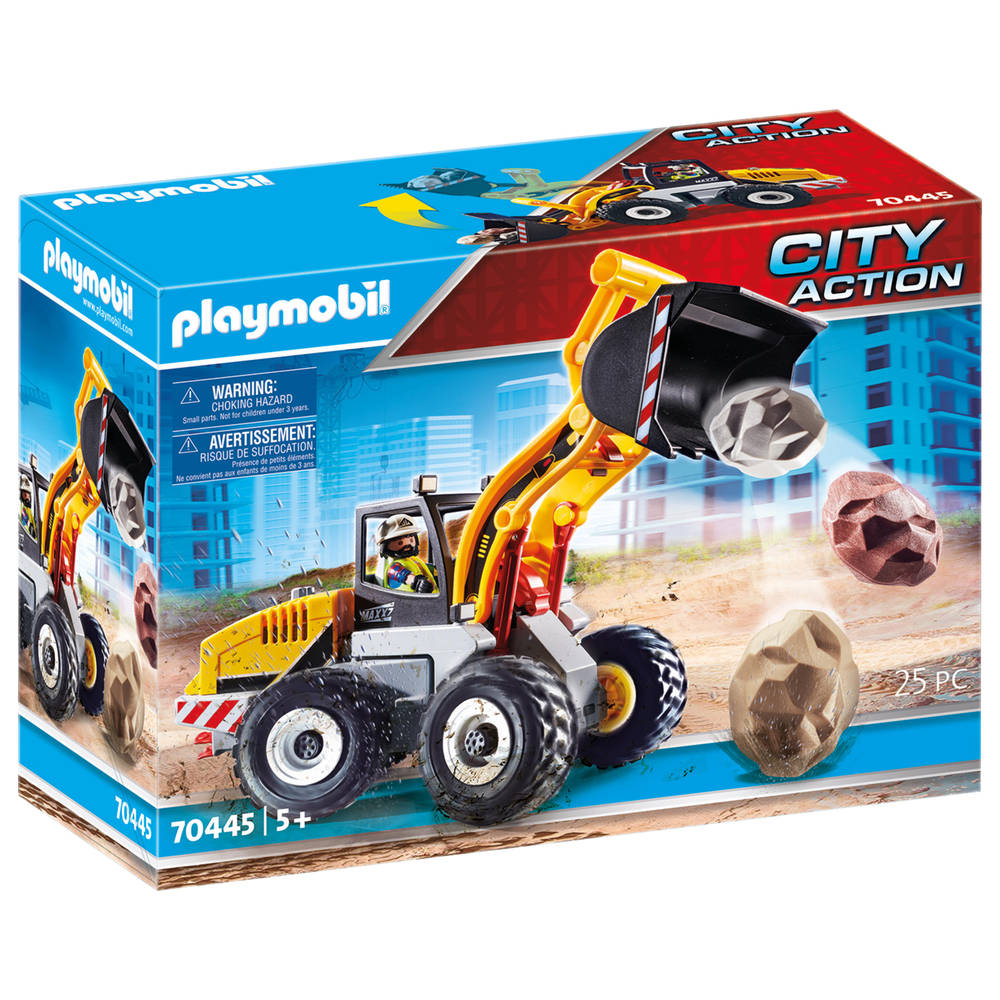 PLAYMOBIL City Action wiellader 70445