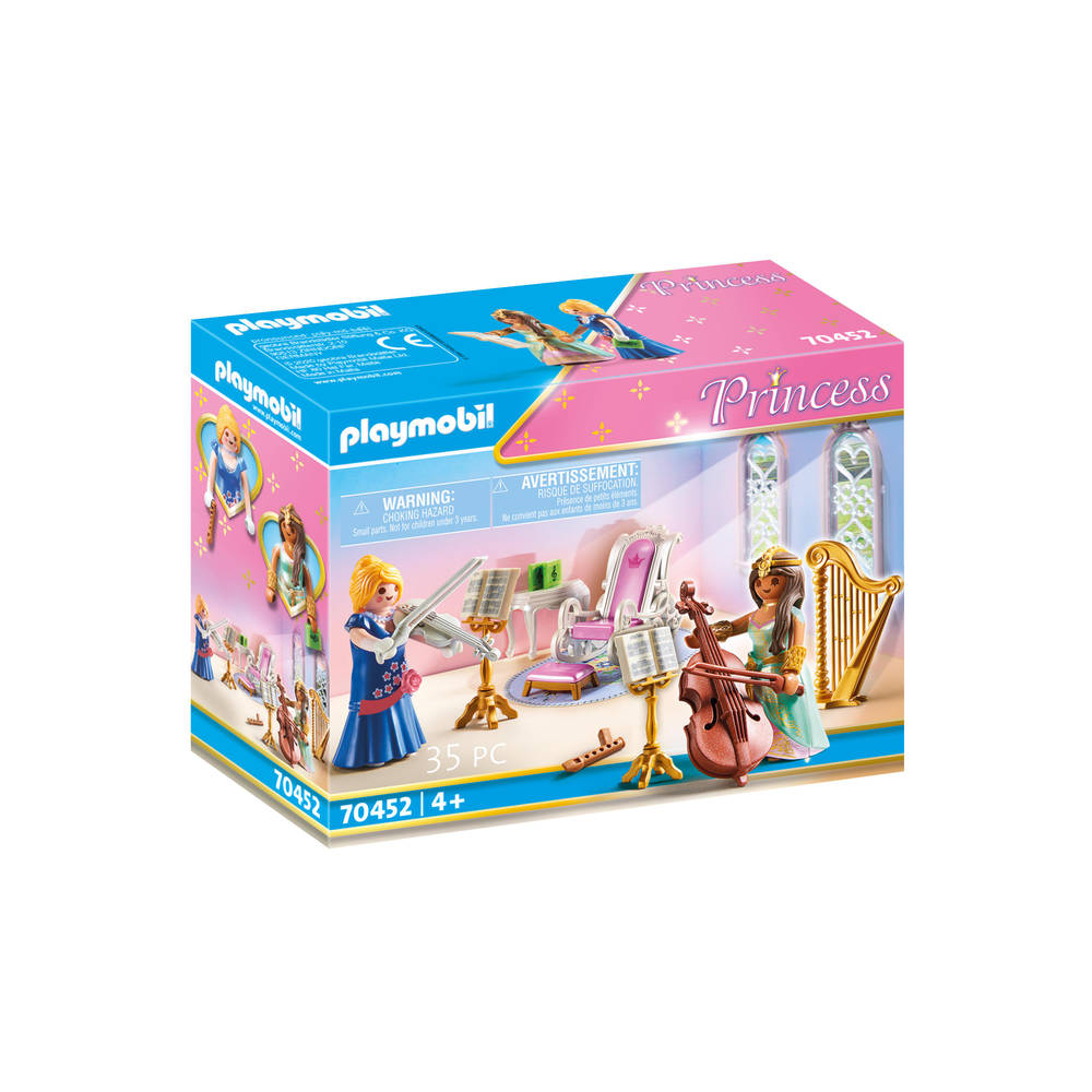 PLAYMOBIL Princess muziekkamer 70452