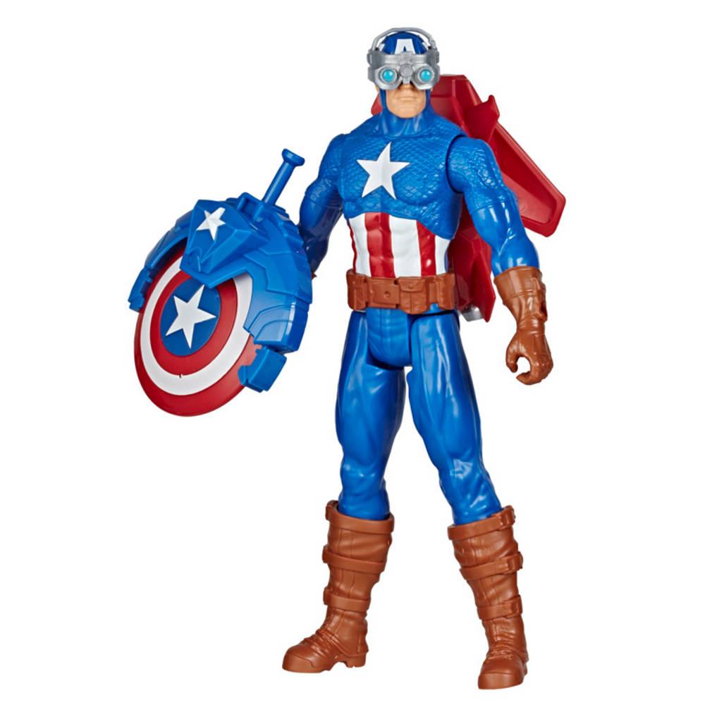 Marvel Avengers Titan Heroes speelfigurenset Captain America