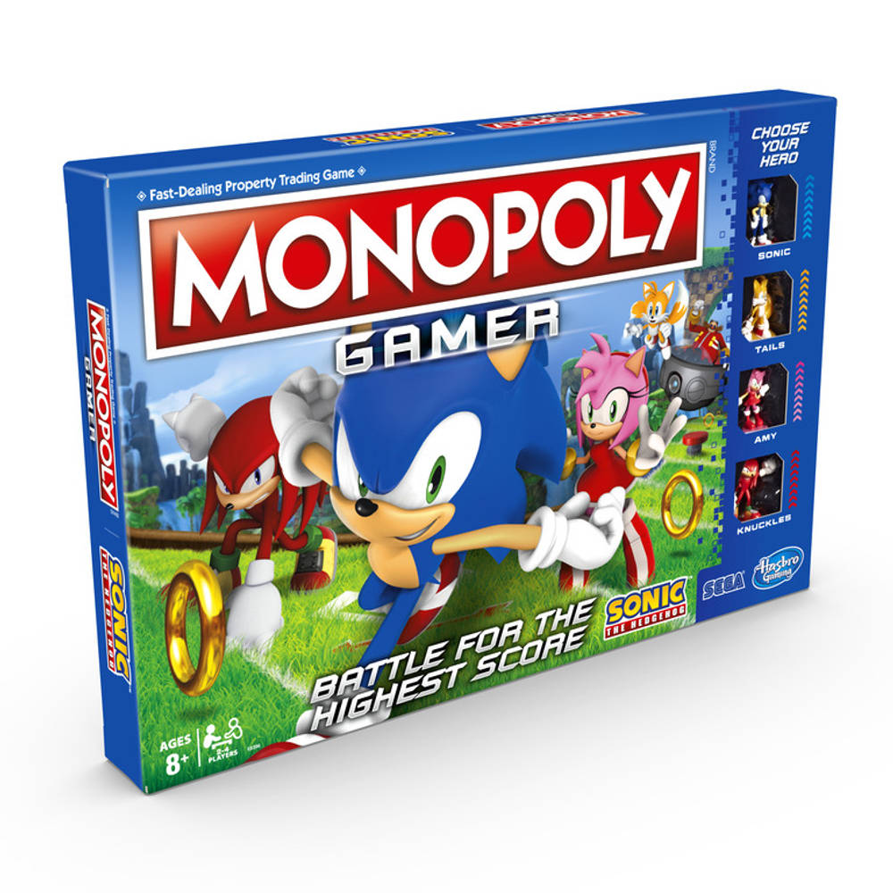 Monopoly Gamer Sonic the Hedgehog