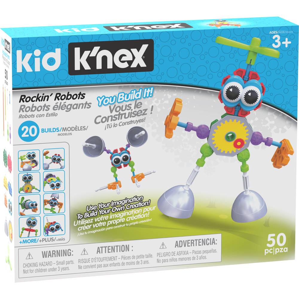 Kid K'NEX Rockin' Robots bouwset