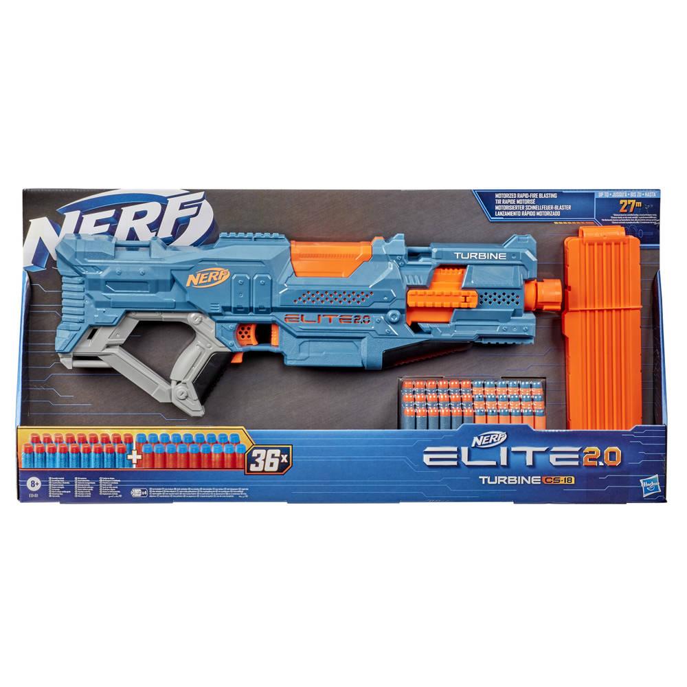 NERF Elite 2.0 Turbine CS 18 blaster
