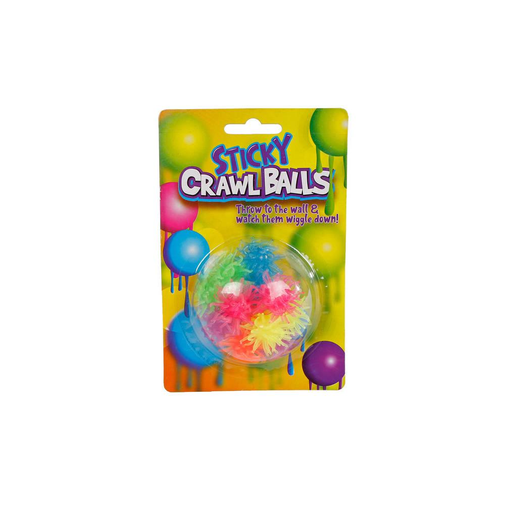 Sticky crawl balls