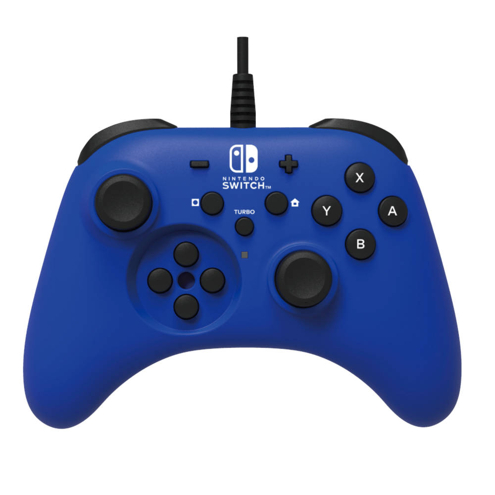 Nintendo Switch Horipad bedrade controller - blauw