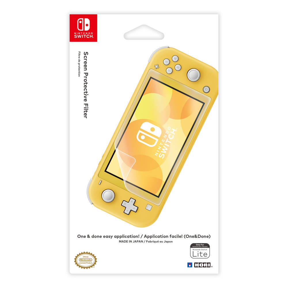 Nintendo Switch Lite Hori One & Done screen filter